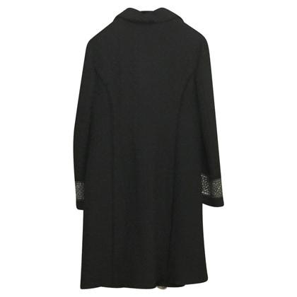 Maliparmi Lange jas in zwart