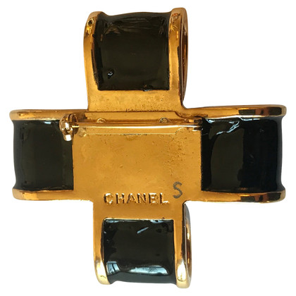 Chanel Broche perles CHANEL / Croix