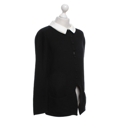 Rena Lange Cardigan with white collar