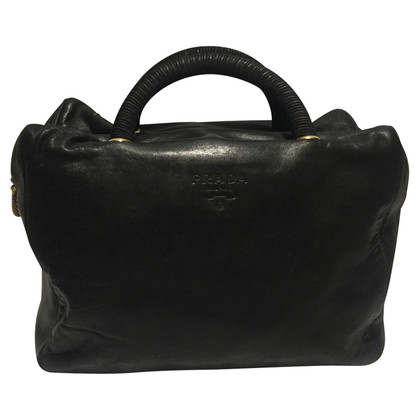 Prada Black Bowling Bag