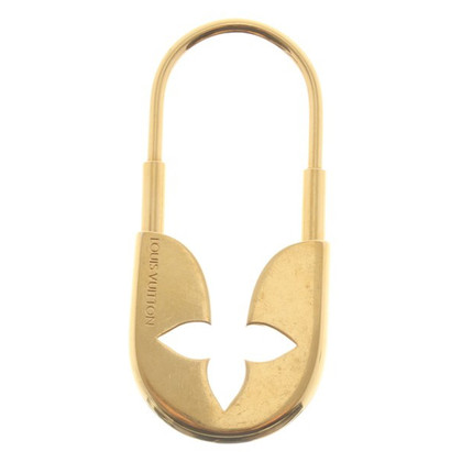 Louis Vuitton Gold colored key chain