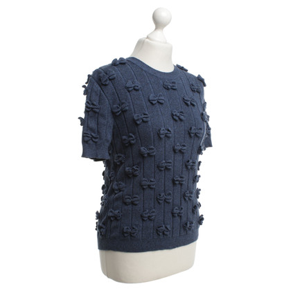 Chanel Top Knit in Blue