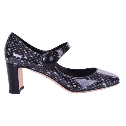 Dolce & Gabbana Mary Jane Pumps in Schwarz/Weiß