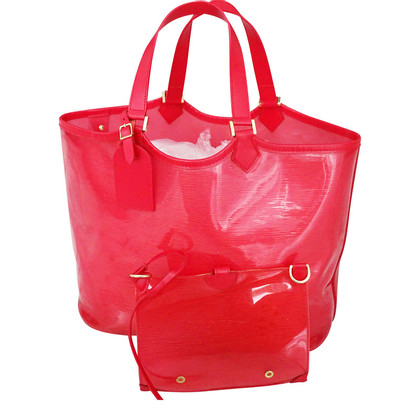 "Louis Vuitton ""Lagoon GM"" in red"