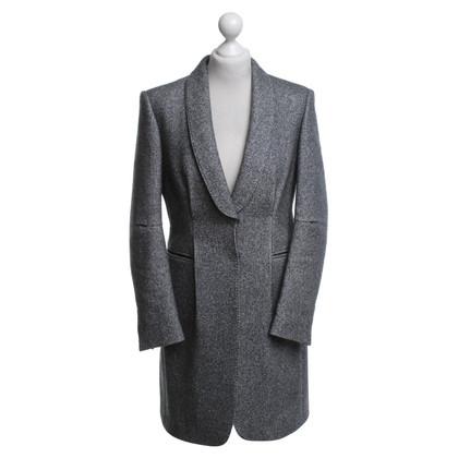 Brunello Cucinelli Mantel in meliertem Grau
