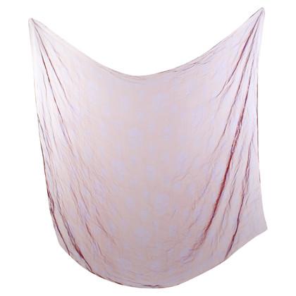 Alexander McQueen Silk scarf with print