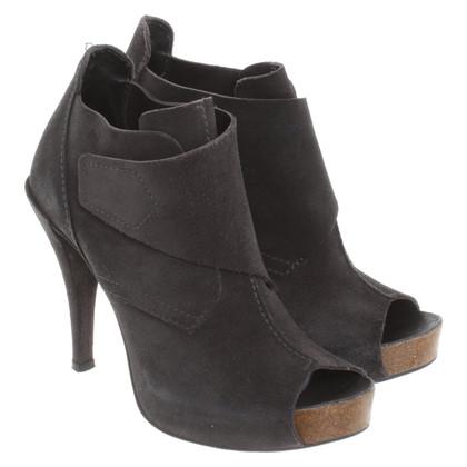 Pedro Garcia Peep-toes in grey