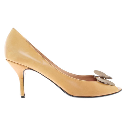 Golden Goose Peep-toes in marrone