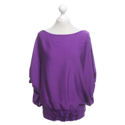 Diane von Furstenberg top in purple