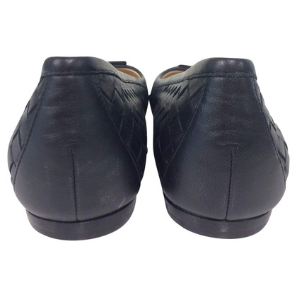 Bottega Veneta Black Ballerinas
