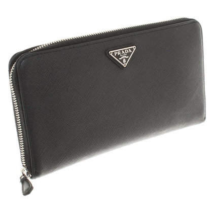 Prada Wallet in zwart