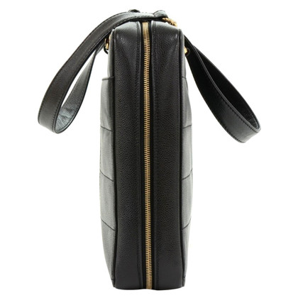 Chanel Sacchetto del computer portatile di caviale in pelle