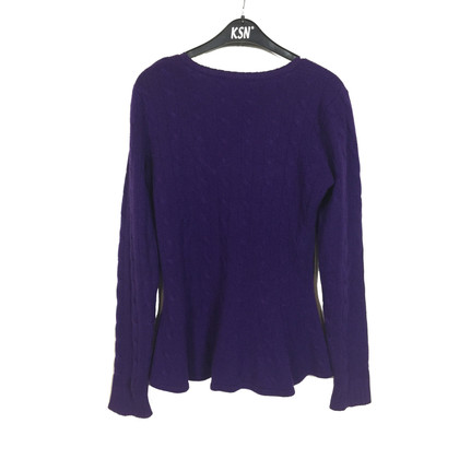 Ralph Lauren Cashmere sweater with peplum