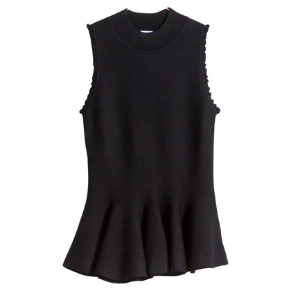 Carven Top with peplum