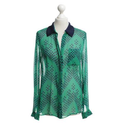 Diane von Furstenberg Zijden blouse