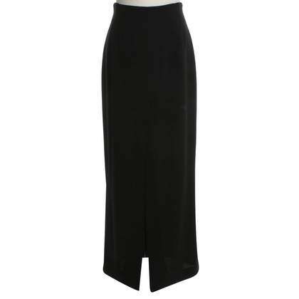 Rena Lange Lange rok in zwart