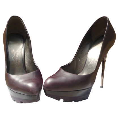 Salvatore Ferragamo Plateau pumps