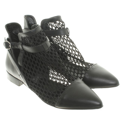 Red Valentino Ankle boots with Web detail