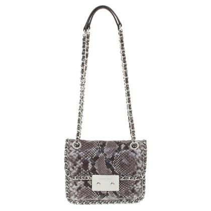 Michael Kors Carine MD Shoulder Bag Steel Gray