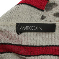 Marc Cain Twin set with stripes / leopard pattern