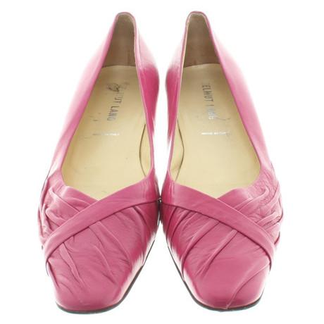 Helmut Ballerinas Pink Helmut Lang mit Lang Heels Kitten Rosa q57tHwUtxF