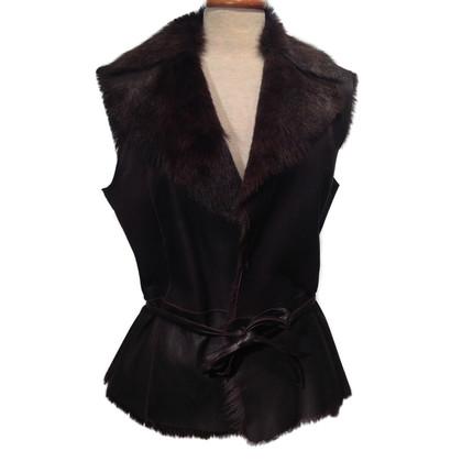 Other Designer Sylvie Schimmel - goat skin vest