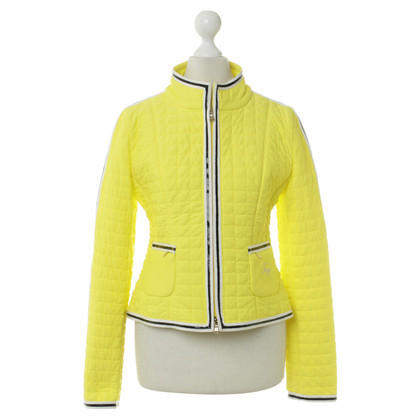 Fay Quilted Jacket in yellow