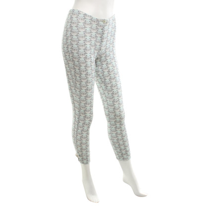 Marc Cain Leggings with swan motif