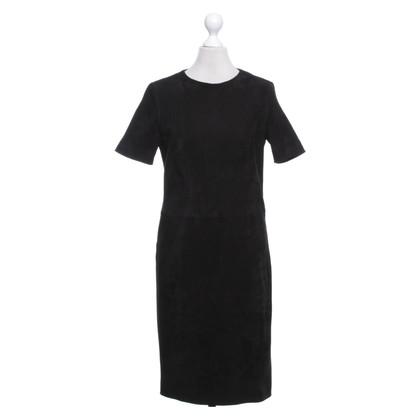 Windsor Leather dress in black
