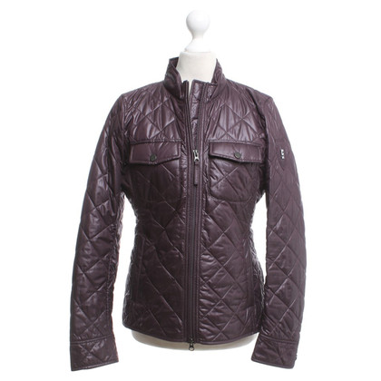 Cinque Quilted jacket in purple