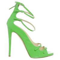 Giuseppe Zanotti High heel sandal in green