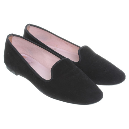 Pretty Ballerinas Slipper aus Velours-Leder