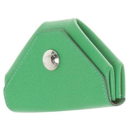 Hermès Mini wallet in green