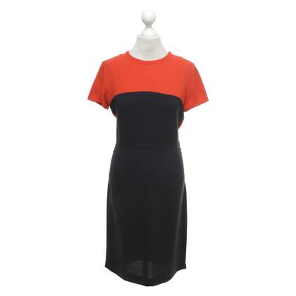 Stella McCartney Vestito in arancione / blu scuro