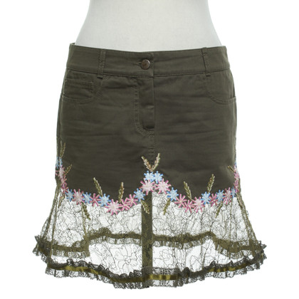 Red Valentino skirt with a floral pattern