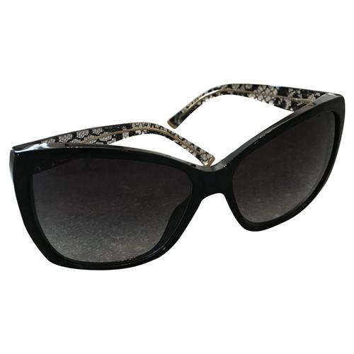 Dolce & Gabbana Sonnenbrille in Schwarz Second Hand Dolce