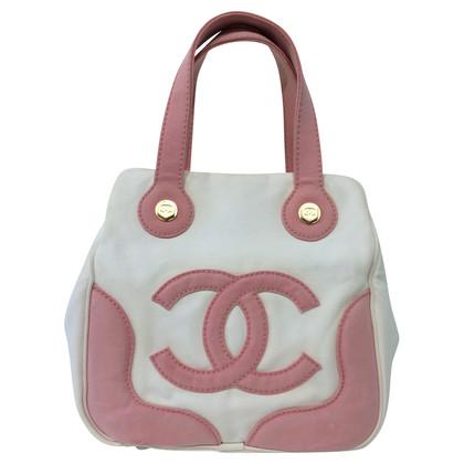 Chanel Handbag in pink/white