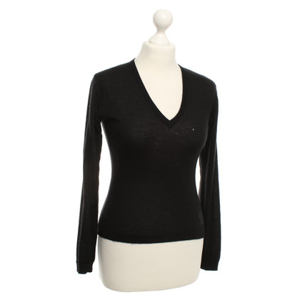 Versace Cashmere sweaters in black