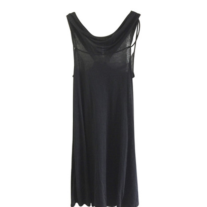 Vanessa Bruno Black lace detail dress