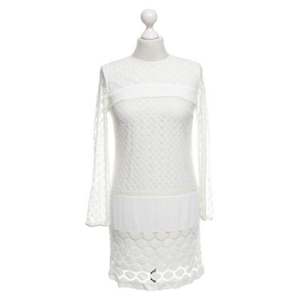 Diane von Furstenberg Robe crème blanche