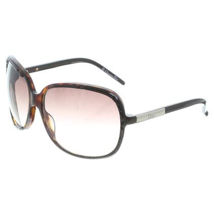 Christian Dior Hoorn zonnebril