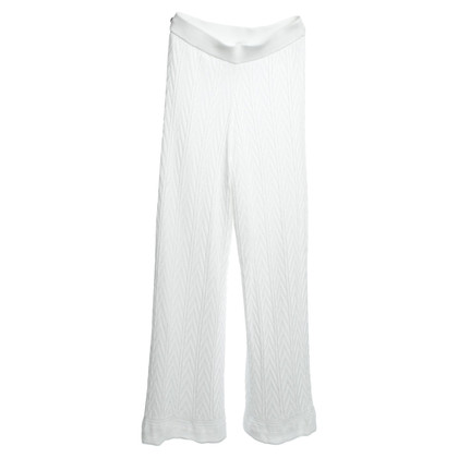Missoni trousers in white