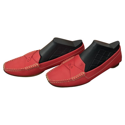 Tod's Loafers in red