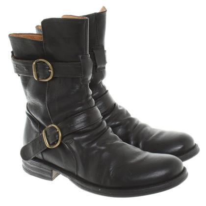"Fiorentini & Baker Boots ""Eternity"" in Schwarz"