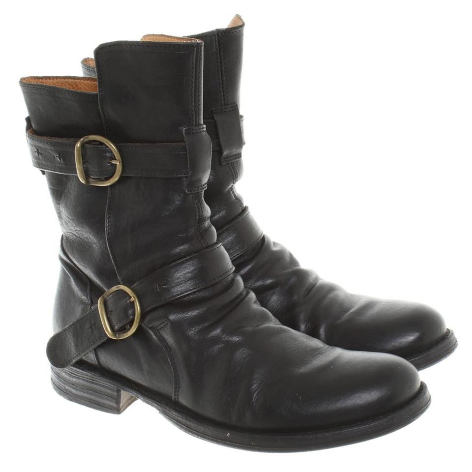 fiorentini baker boots eternity in black buy second. Black Bedroom Furniture Sets. Home Design Ideas