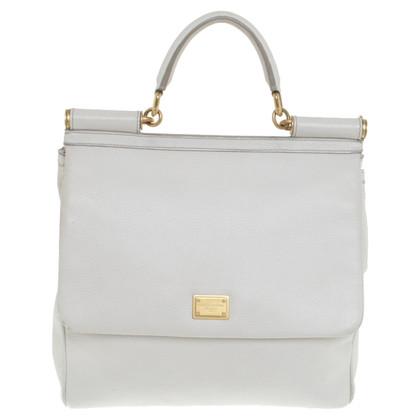 "Dolce & Gabbana ""Miss Sicily Bag"" in Creme"