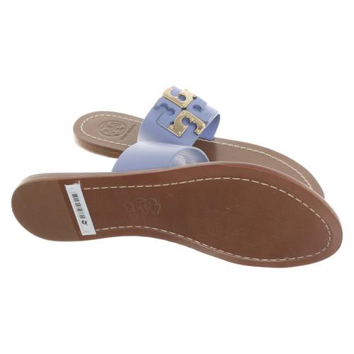 752e5c7b7 Tory Burch Sandals in blue - Second Hand Tory Burch Sandals in blue ...