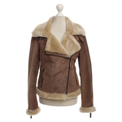 Oakwood Dalla giacca di camoscio/pelle di pecora
