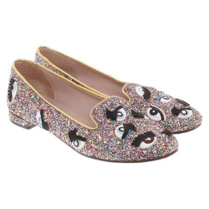 Chiara Ferragni Glittering slippers