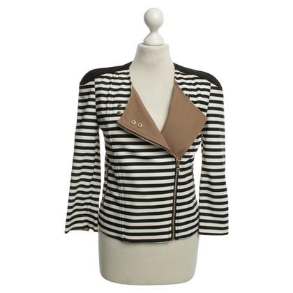 Patrizia Pepe Jacket with striped pattern